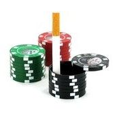 Pocket Ashtray Poker Chips