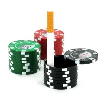Posacenere Tascabile Casino Chips