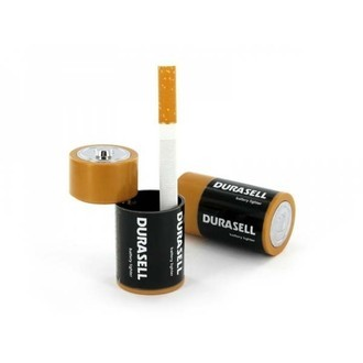 Pocket Ashtray Battery