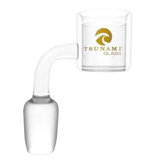 Tsunami Glas-Banger mit männlichem Anschluss