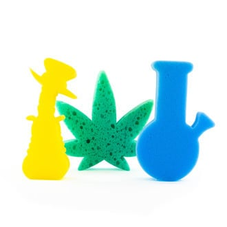 Bong Cleaning Sponges | 3 Pieces