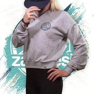 Zamnesia Crop Top Sweater   Women
