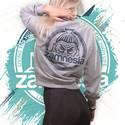 Zamnesia Crop-Top-Pullover | Damen