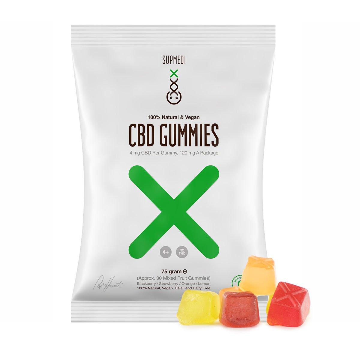 CBD Gummies | SupMedi | Best Quality - Zamnesia