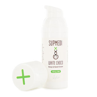 CBD Body & Hand Cream White Choco (SupMedi)