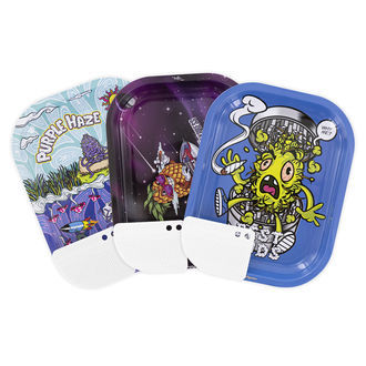 Best Buds Metal Rolling Tray Small