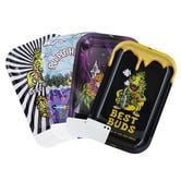 Best Buds Metal Rolling Tray Large