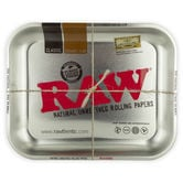 RAW Rolling Tray Silver