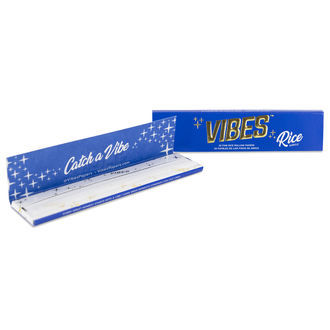 Vibes Rice Rolling Papers King Size Slim