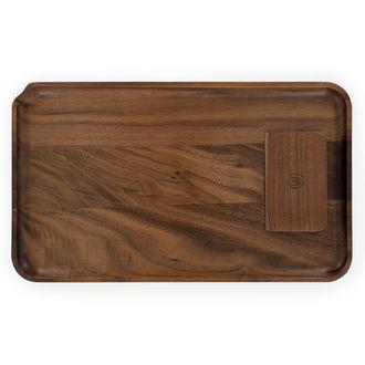 Große Drehunterlage aus Holz (Marley Natural)