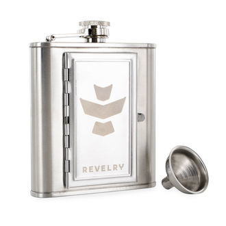 The Accomplice Flask (Revelry)