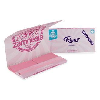 Blättchen in pink 'Runtz' Kingsize + Tips + Tablett (Zamnesia)