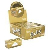 Blättchen Smoking Gold auf Rolle