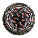 Glass Aschenbecher Hotlips
