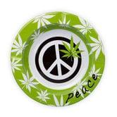 Metal Ashtray Peace