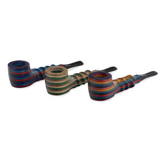 Wooden Pipe Colorpuff
