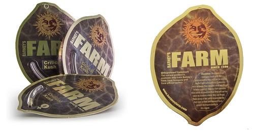 Barney's Farm packaging
