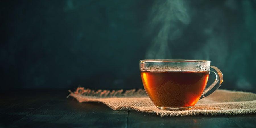 Mache Einen Tee; Anstatt Pulver Zu Nehmen