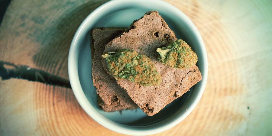 Mit Cannabis angereicherte Esswaren