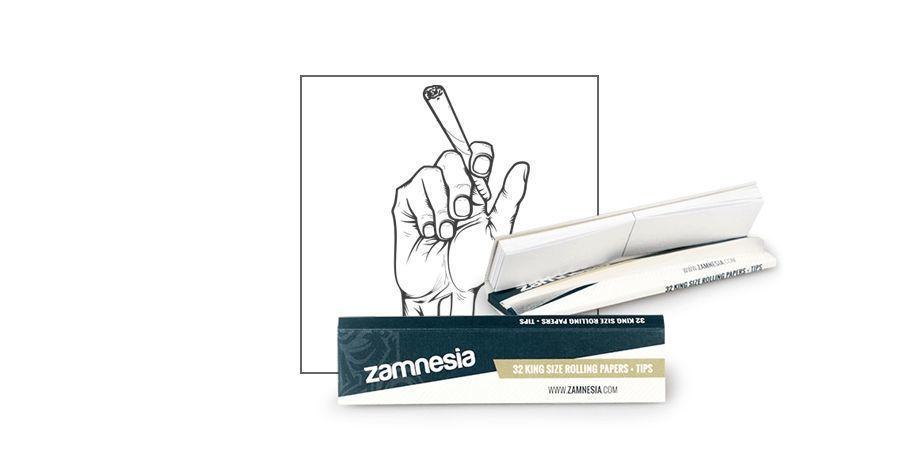 Zamnesia Blättchen King Size + Tips