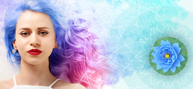 Strahlendes Haar