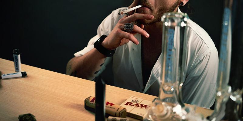 Cannabis inhalieren