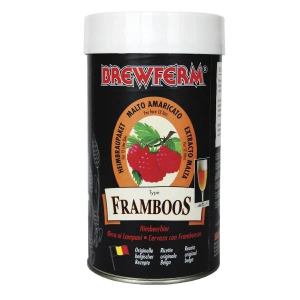 Bierset Brewferm Himbeere (12l)