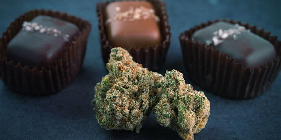 Medizinisches Cannabis Essen - Esswaren