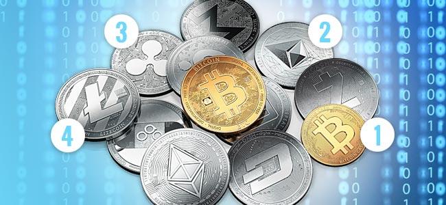 Die Bekanntesten Krypto-währungen