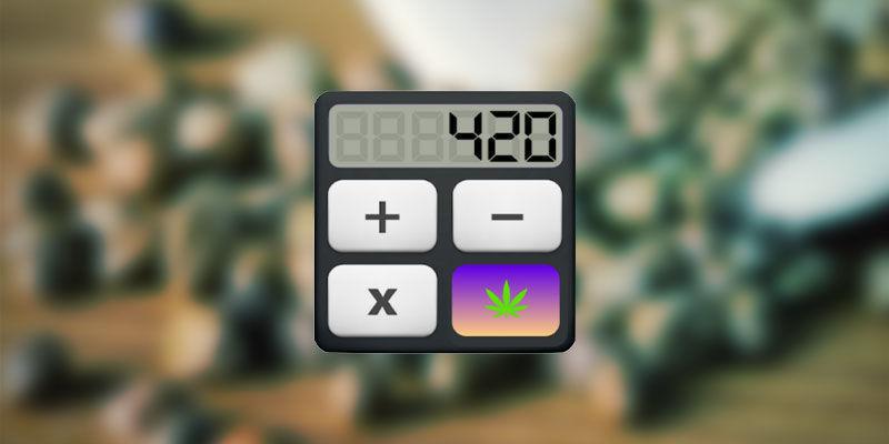 Cannalator Weed Calculator Für THC-Edibles