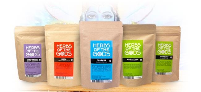 Herbs Of The Gods Was hat das unternehmen anzubieten?