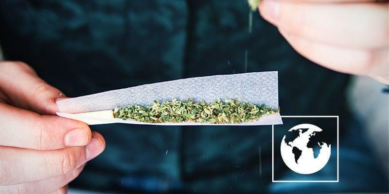 Cannabiskonsum auf ganzen Welt