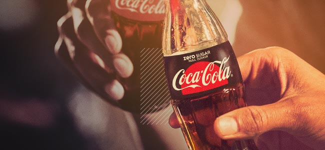 SOFT DRINK GIANT COCA COLA IS INTERESTED IN CANNABIS