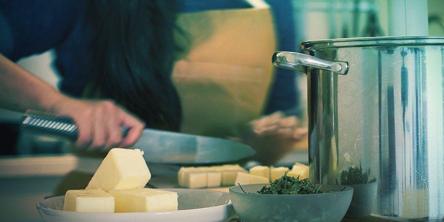 Wie Man Canna-butter Herstellt