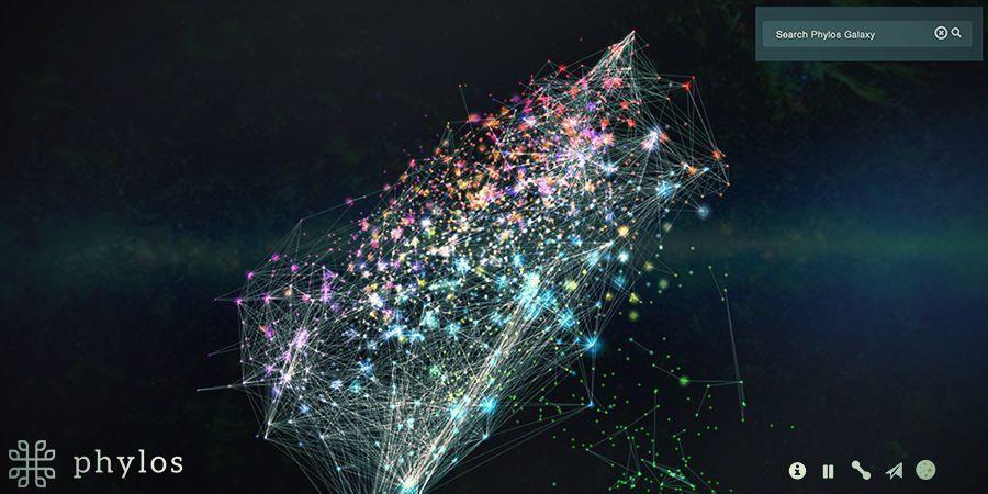 """Galaxy Map"" Von Phylos"