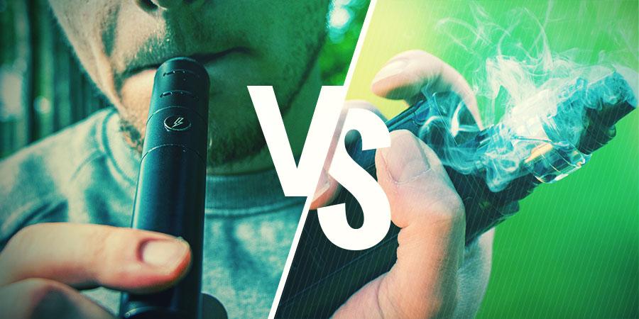 Worin Besteht Der Unterschied Zwischen Dem Verdampfen Von Trockenen Blüten Und Dem Verdampfen Von E-liquids?