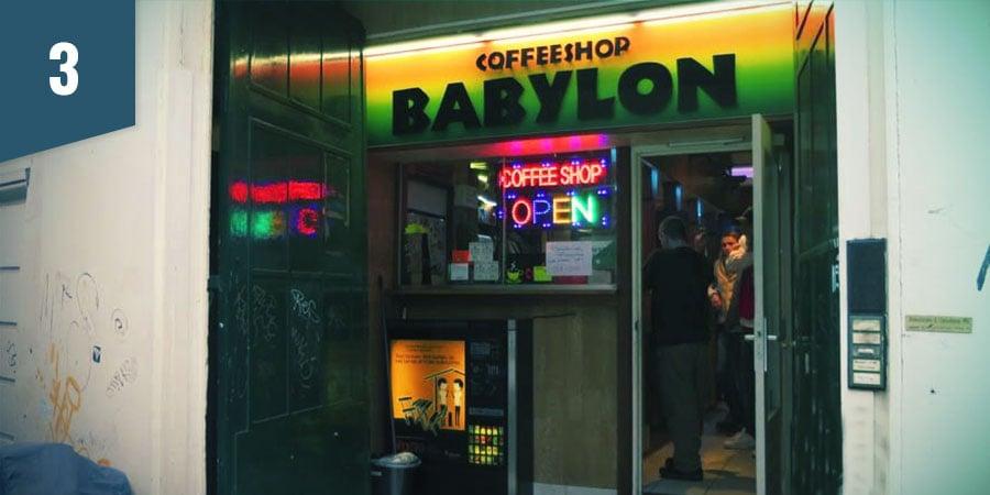 Coffeeshop Babylon Amsterdam