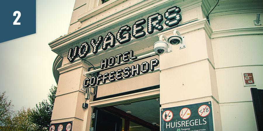 Voyagers Coffeeshop Amsterdam - Besten CBD-Produkte