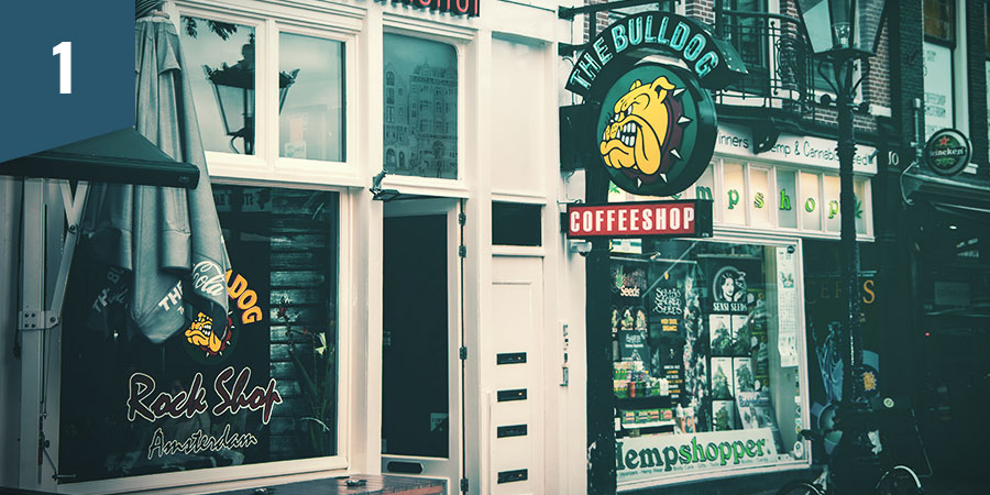 THE BULLDOG COFFEESHOP AMSTERDAM