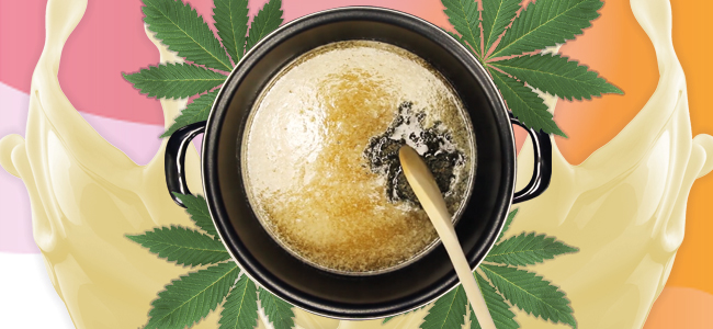 Die Vorbereitung Cannabis Butter