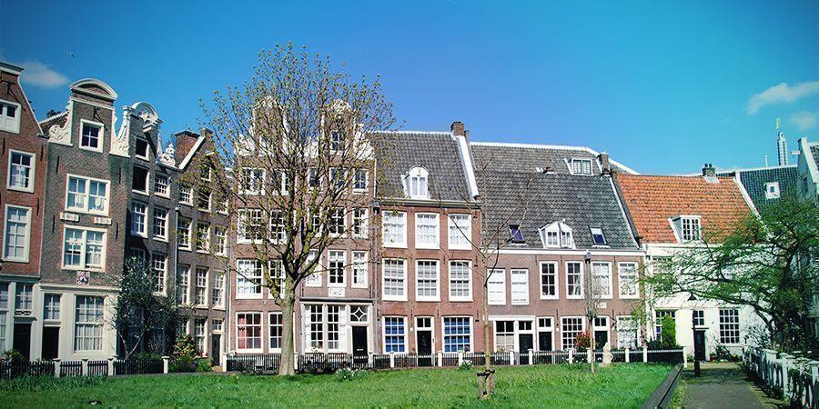 Smoke-Spots In Amsterdam: Innenhöfe