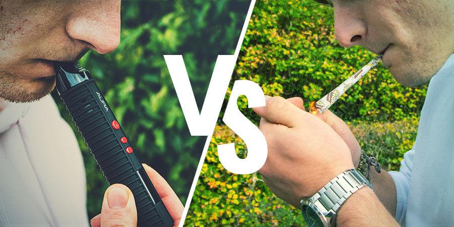Der Unterschied zwischen Rauchen und Verdampfen