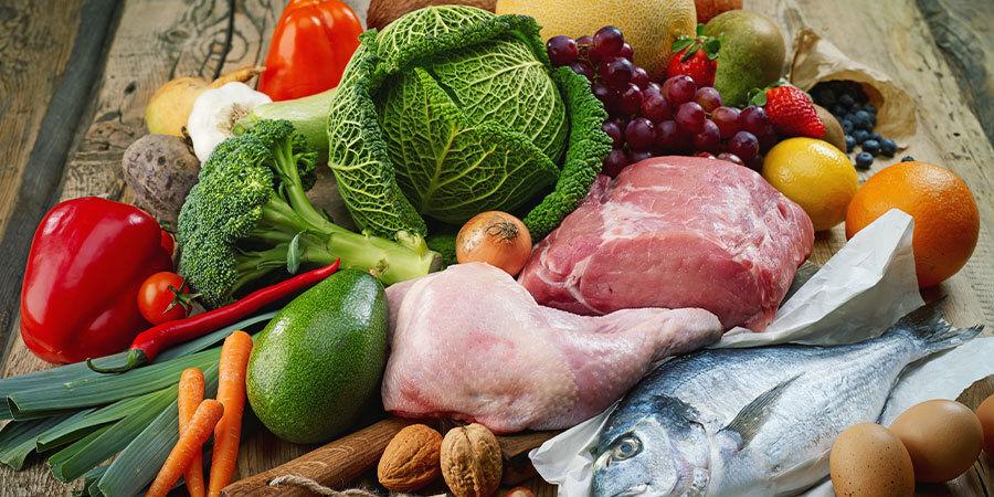 Beispiele für Paläo-Lebensmittel