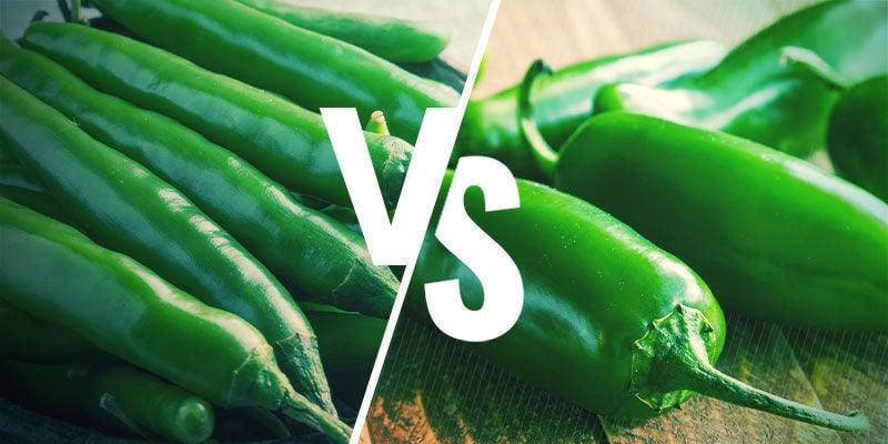 Sind Grüne Chilis Und Jalapeños Dasselbe?