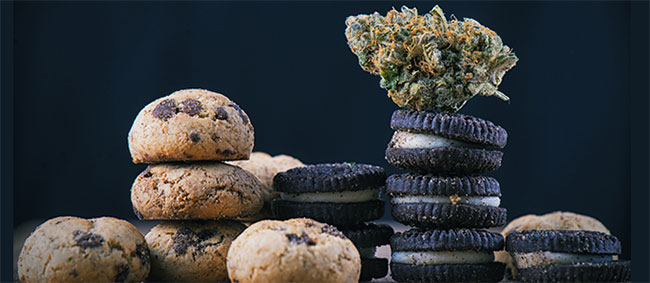 Cannabis cookie oreo