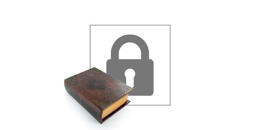 Buch mit Dreheinlage Kavatza Pi Unique