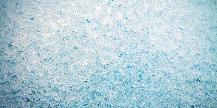 Bongwasseralternativen: Eiswürfel & Schnee