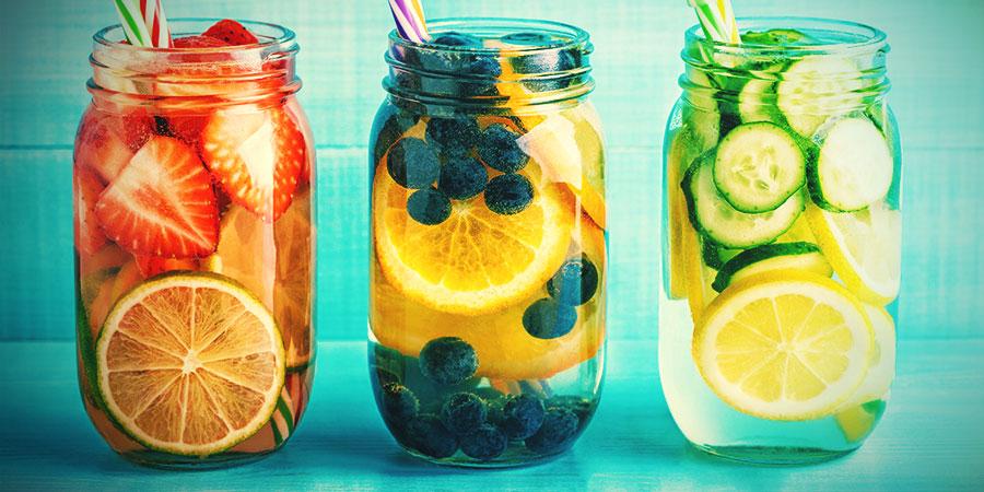 Bongwasseralternativen: Fruchtaufgüsse