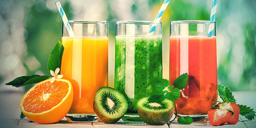 Bongwasseralternativen: Fruchtsaft