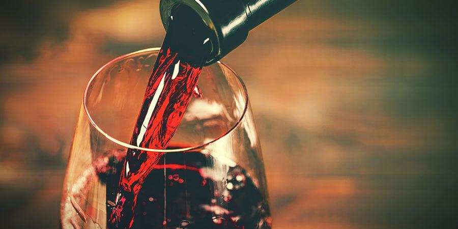 Bongwasseralternativen: Rotwein